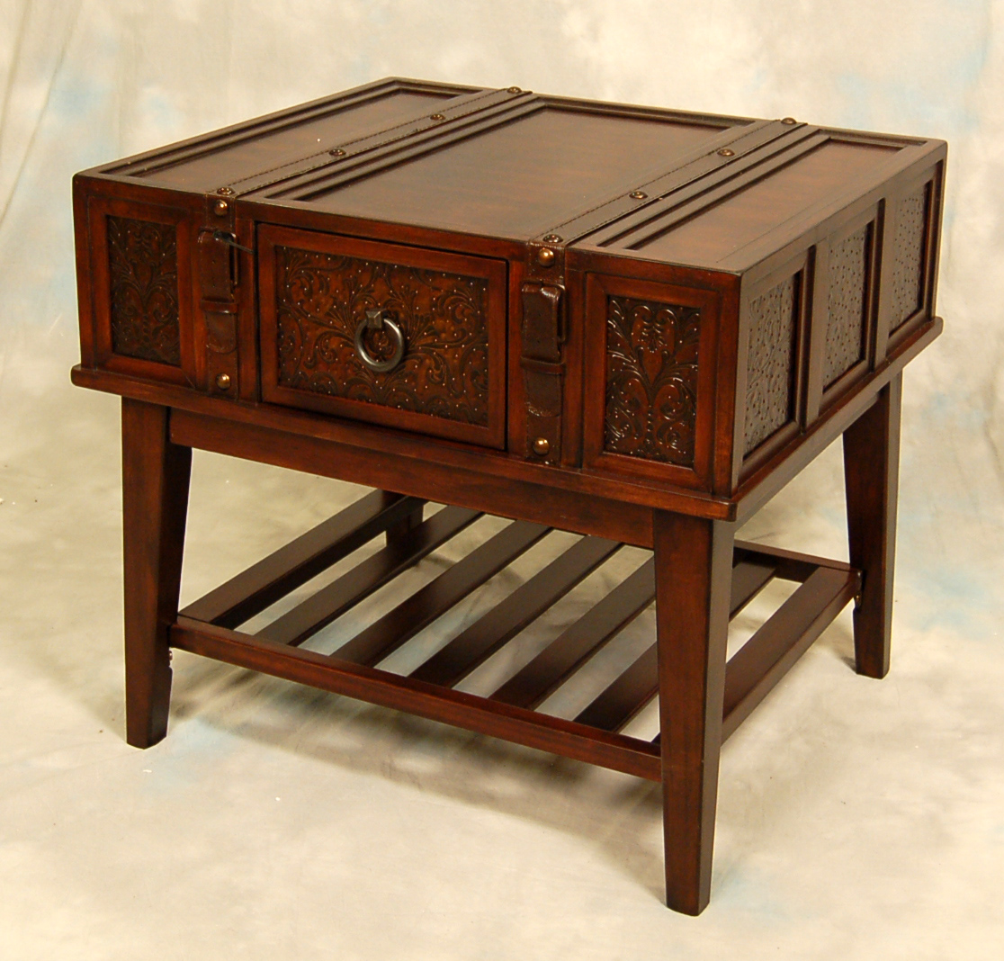 Old World Mckenna Trunk Coffee End Table Ebay