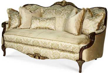 Imperial Court Wood Trim Sofa 79815
