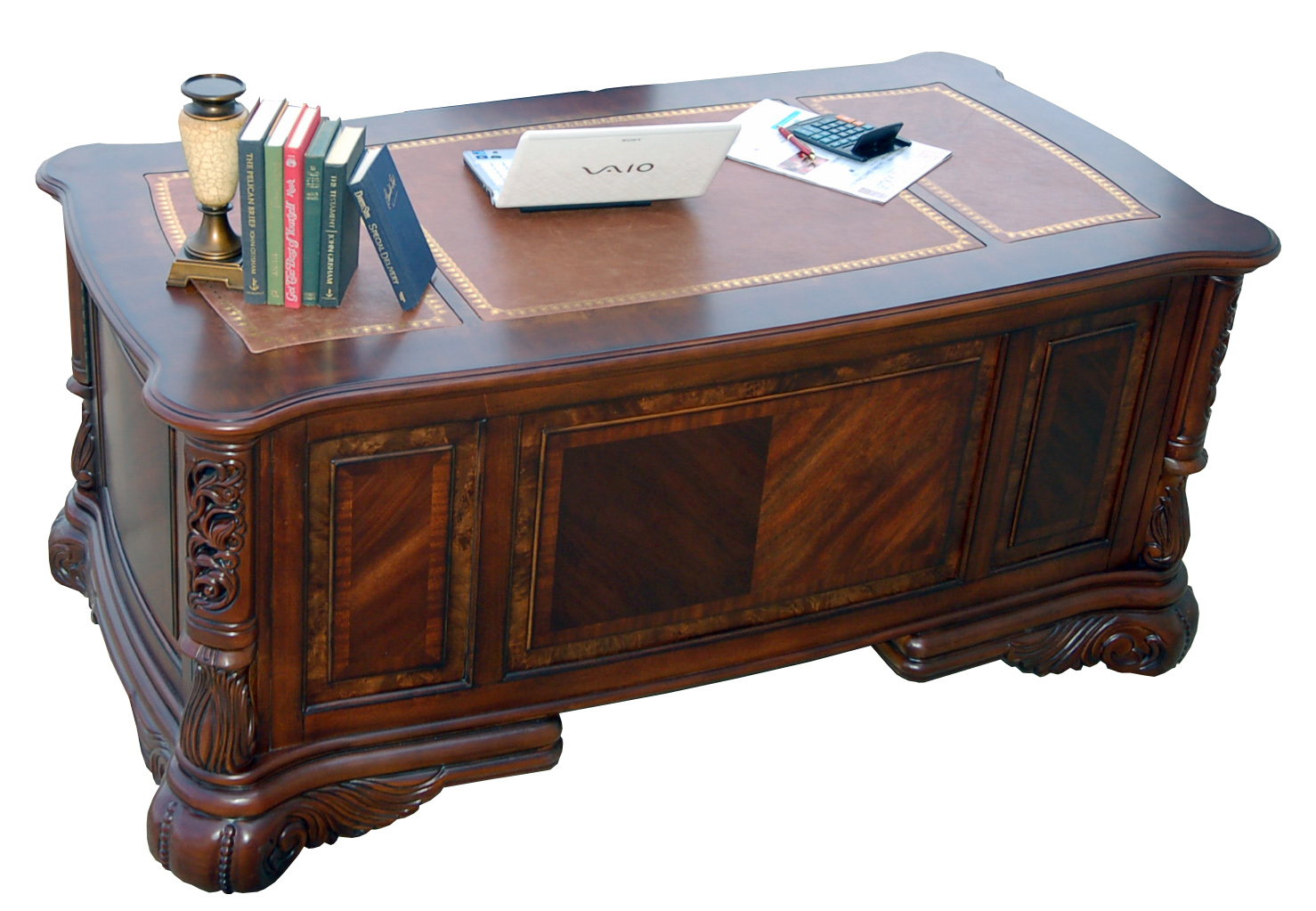 Executive Desk Credenza Hutch File File Pedestal In Desk And Credenza