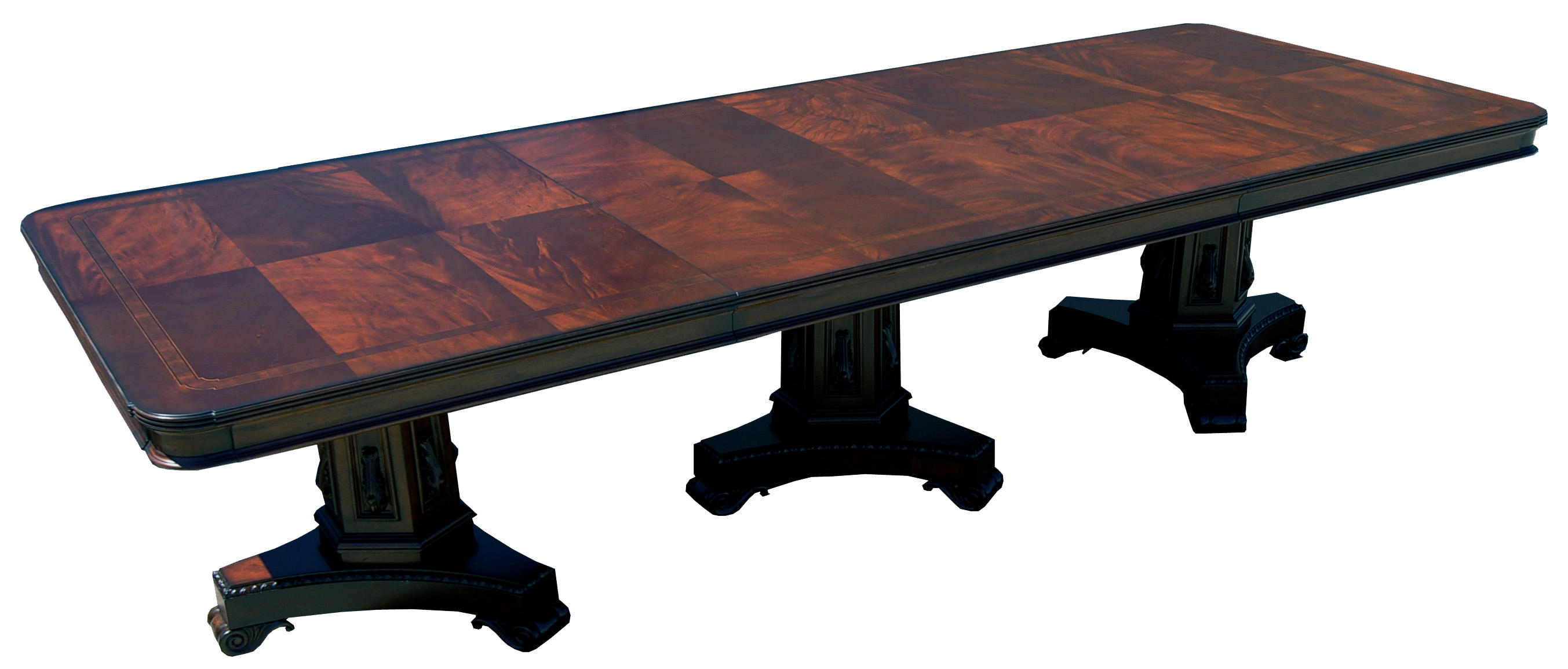 Large Mahogany Banquet Dining Conference Table eBay : fullview1exp from www.ebay.com size 2706 x 1154 jpeg 424kB