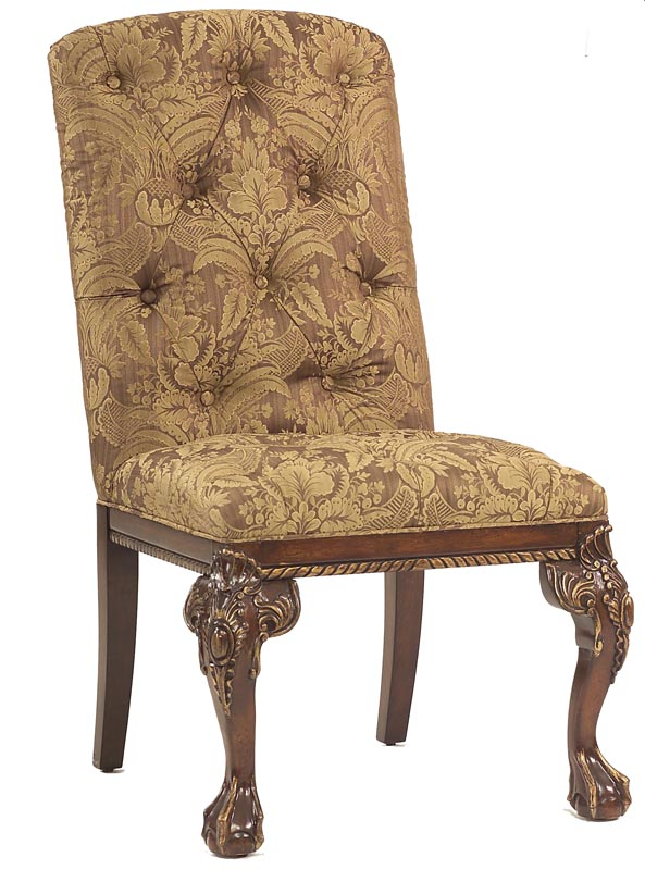 Gold Upholstered Accent Chairs Bing images