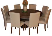 Nine Piece Rustic Dining Set