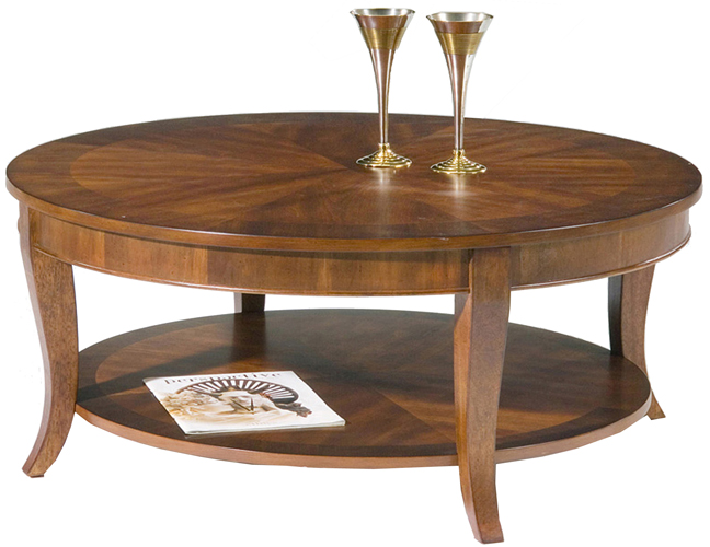 Round Mild Cherry Coffee Table Ebay
