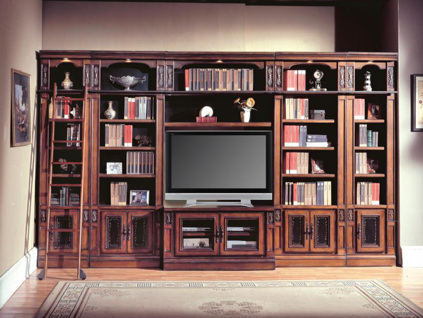 7 Piece Chestnut Entertainment Center TV Wall Unit eBay : fullview1exp from www.ebay.com size 850 x 640 jpeg 150kB