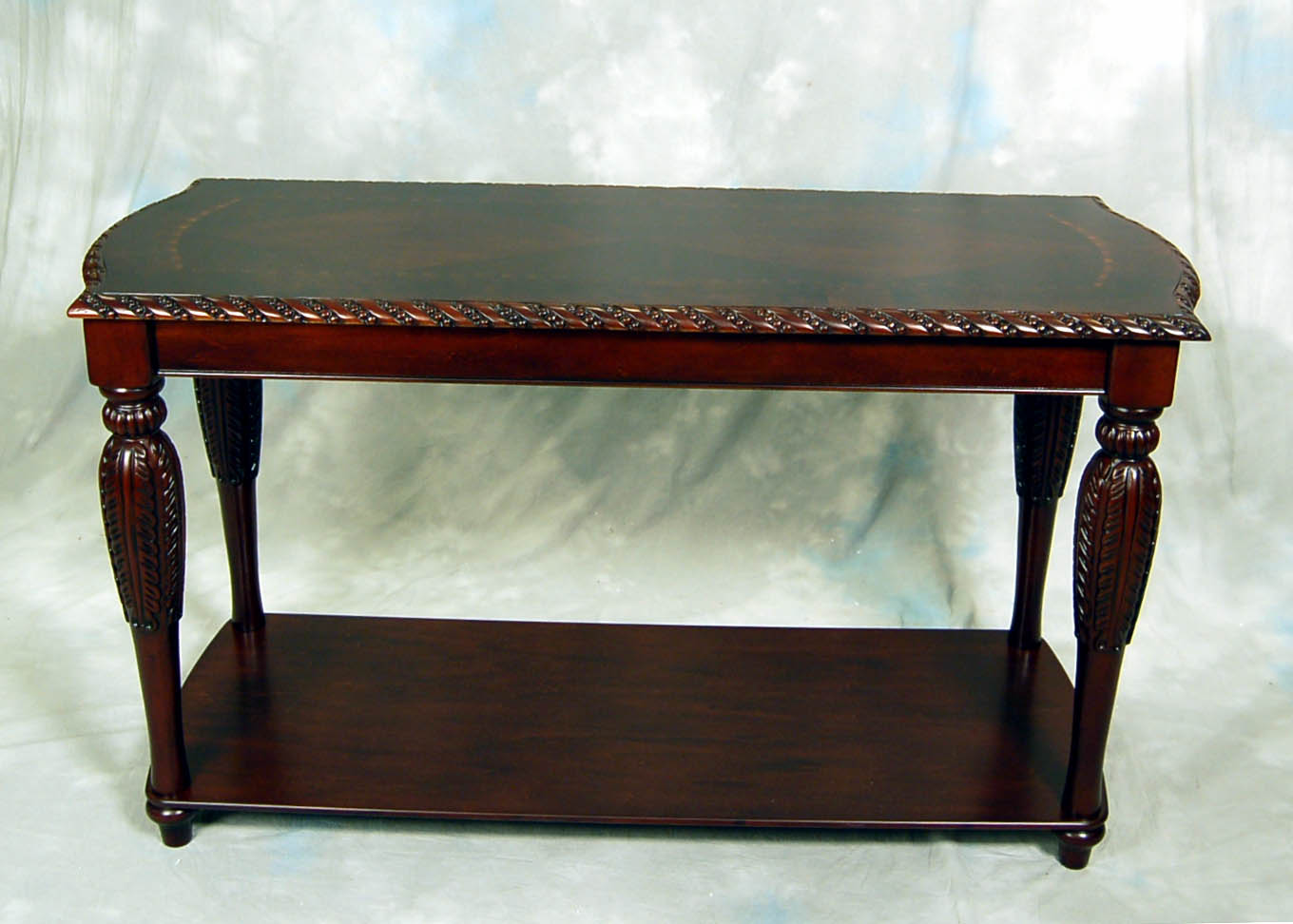 Carved Brown Mahogany Sofa Table Ebay
