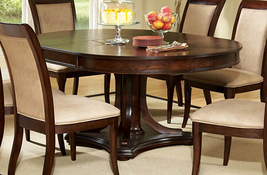 """70"""" Oval 7 Piece Dining Table And Chair Set"""