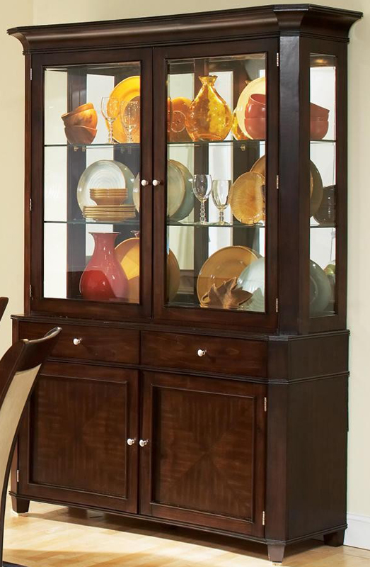 China Hutch And Buffet ~ Contemporary buffet and hutch china cabinet
