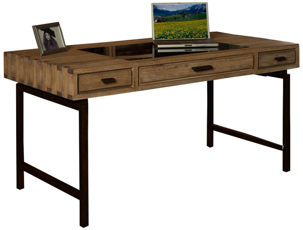 details about metro retro solid wood office writing desk table