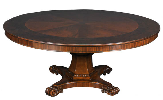 Mahogany and More Dining Tables 72 Dark Mahogany Round Dining Table
