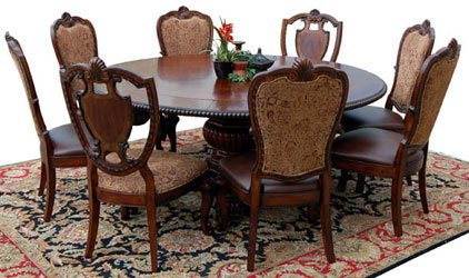 9 Piece Old World Dining Set
