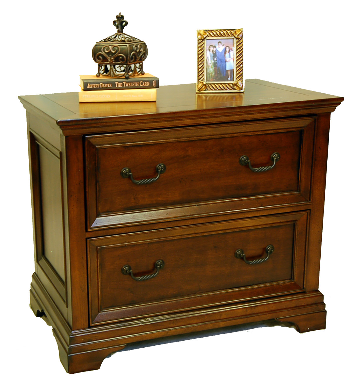 Bail Pulls For Furniture Details about Wood Traditional Cherry Locking Lateral File Cabinet