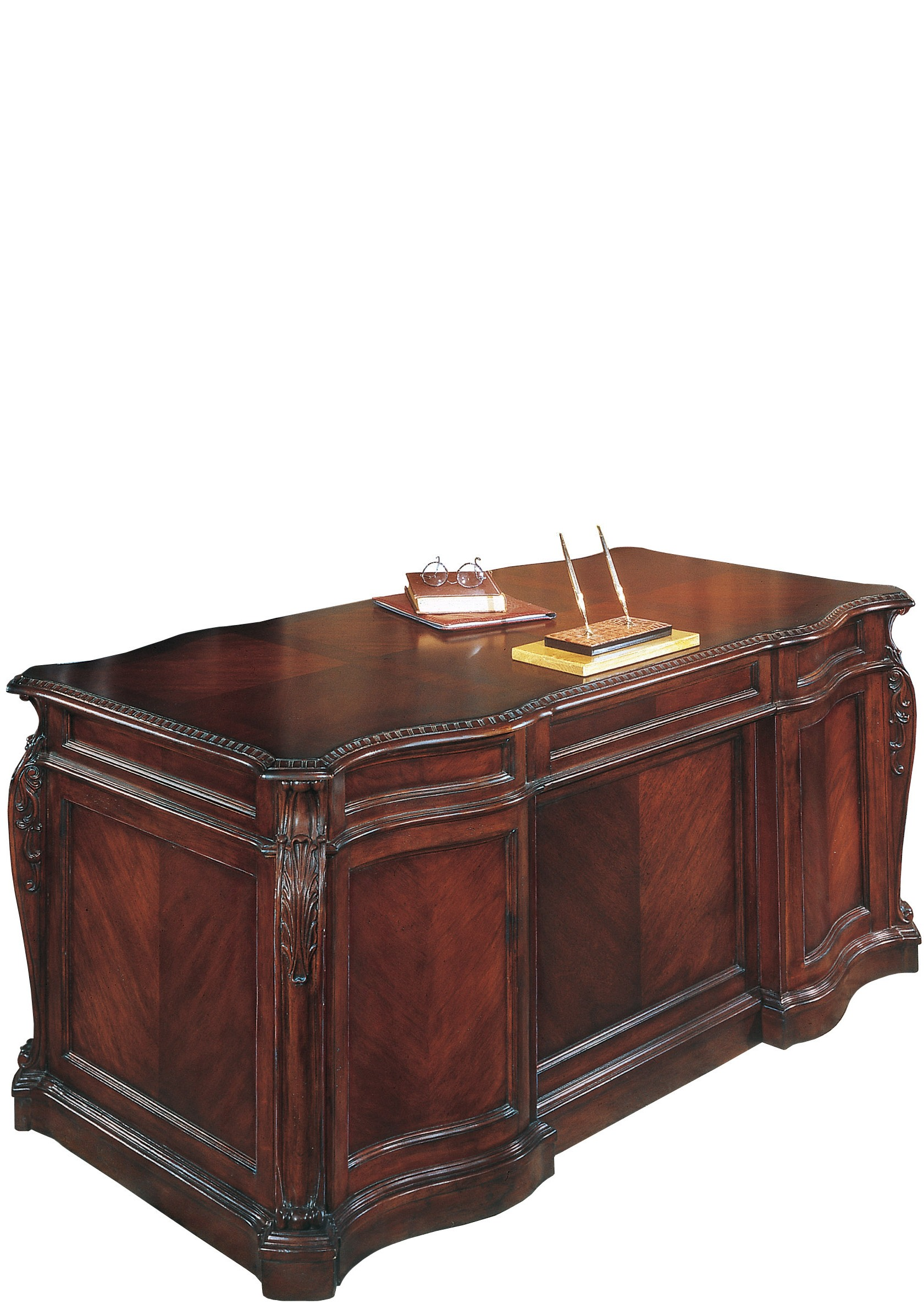 mahogany executive office desk ebay